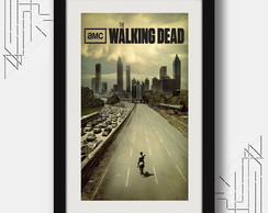 Quadro Walking Dead 67x47cm Series tv