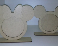 Porta Retrato - Minnie e Mickey