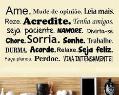 Adesivo Decorativos Frase Motivacional No Elo7 Adesivos De