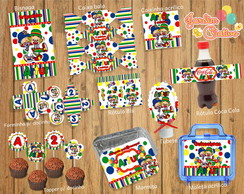 Kit Festa Digital Patati Patata