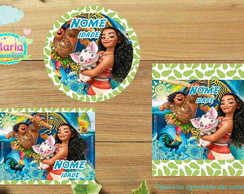 Kit festa digital Moana