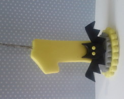 Vela batman de biscuit