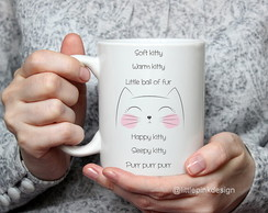 Mug Soft Kitty - The Big Bang Theory