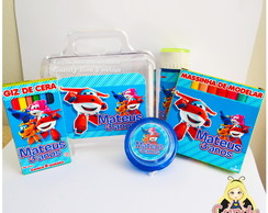 Kit Maleta Super Wings personalizado