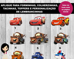 Aplique Carros Disney