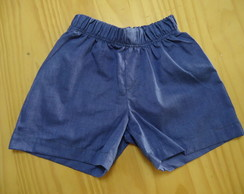 Short Boy - Azul Jeans