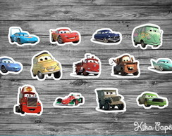 Aplique Carros Disney M2 3,5 cm