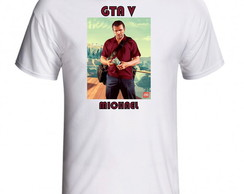 CAMISETA GTA V MICHAEL