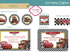 Kit Festa Digital Carros