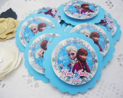 Tag Scrap Frozen Elsa Anna