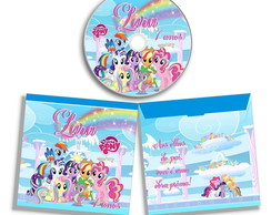 Dvd ou Cd personalizado My Little Pony