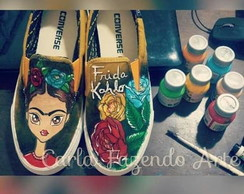 all star personalizadoFrida Kahlo