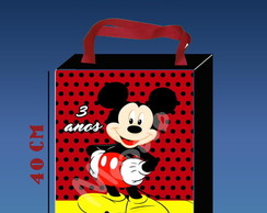 SAcolas ou Eco bag C/ Fundo Mickey