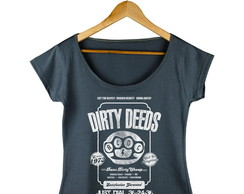 Camiseta Feminina AC/DC Dirty Deeds