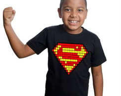 Camiseta Minecraft Superman