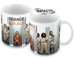 Caneca Orange is The New Black - Mod 1