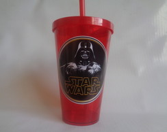 Copo c/ Canudo 550ml Star Wars 01
