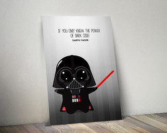 Quadro Decorativo - Pôster Darth Vader