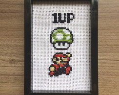 Pop Cruz Mario Bros - 1 up ponto cruz