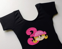 Collant Pirata pink 3 anos