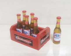 Mini Engradado Budweiser