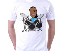 Camiseta Customizada - Caricatura