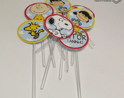 Toppers para doces - Snoope