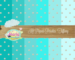 Kit Papel digital tiffany