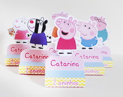 Rótulo Chocolate Peppa Pig