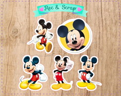 34 Recorte Aplique Mickey
