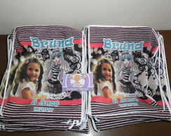 Mochilinha 22x26 Monster High