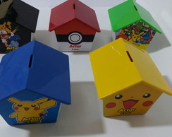 Casinha Cofre Pokemon