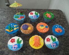 Cupcakes - Fundo do Mar