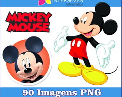 Kit Mickey Mouse PNG 90 Imagens