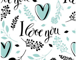 Papel De Parede Love 52 I Love You