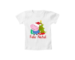 Camiseta OU Body Feliz Natal George 2