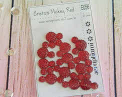Cristais Mickey Red (E056)