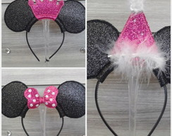Tiara Minnie Trio - Headband