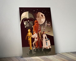 Quadro Decorativo - Poster Star Wars