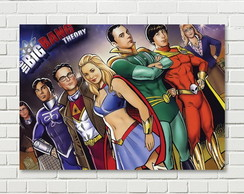 Quadro Geek The Big Bang Theory