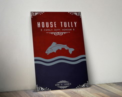 Quadro Game of Thrones Poster Tully