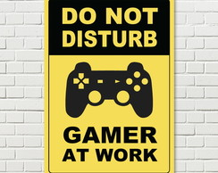 Quadro Geek - Do Not Disturb