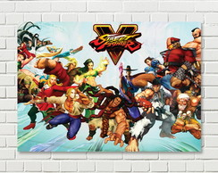 Quadro / Placa Geek - Street Fighter