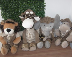 Animais do Safari conjunto