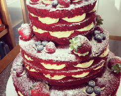 Naked Cake Red Velvet 6kg