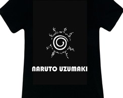 CAMISETA SELO DO NARUTO