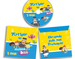 Dvd ou Cd personalizado do Mundo Bita