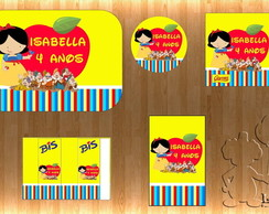Arte Kit Digital - Branca de Neve