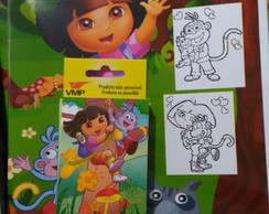 Kit Colorir dora aventureira,