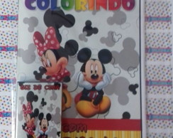 KIT DE COLORIR MICKEY E MINNIE